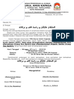 Surat Rapat Ortu Santri