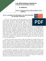 Capítulo II - _ Determinismo e Indeterminismo (Necessidade e Livre Arbítrio).pdf
