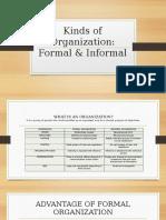Kinds of Organization