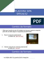 Sopladora Sipa
