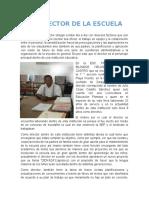 Presentación Del Ensayo de La Gestión Escolar (Director)
