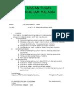 Tugas Dan Fungsi Pokok Petugas p2 Malaria