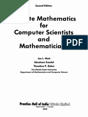 Kunci Jawaban Discrete Mathematics And Its Application