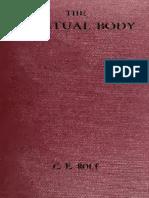 The Spiritual Body_.Rolt