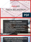 Pharma Bits and Pieces Industry Updates and Regulatory News