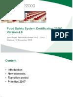 Webinar_FSSC 22000 Version 4
