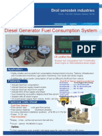 Fuel Consumption Meter | Diesel Flow Sensor