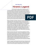 Hiram Legend