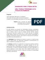 2.4 Habilidades, Técnicas y Estrategias en Los Procesos de Mediación
