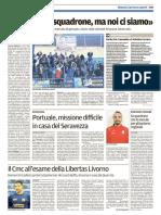 Il Tirreno Massa Carrara 04-02-2017 - Calcio Lega Pro