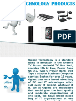 Ogaint Technology Products That Helps People to Make Life Easier