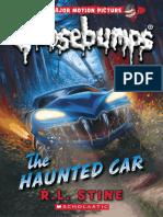 Stine R L - Goosebumps Series 2000 21 - The Haunted Car (2015 Scholas