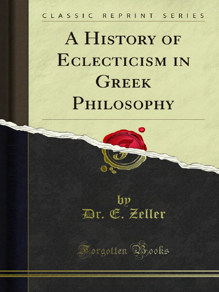 A_History_of_Eclecticism_in_Greek_Philosophy_ pdf | Stoicism | Epictetus