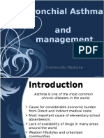Bronchial Asthma and Management
