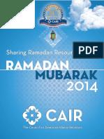 Sharing Ramadan Resource Guide 2014