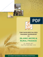 Workshop on Islamic Micro & Rural Finance at Dubai