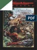 AD&D - Odyssey - Jakandor-Land of Legend (Lvl All)(No OCR or BM)