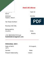 Hadi Ali Abrar