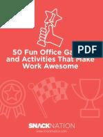 50 Fun Office Games