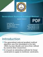 Optimization GRG_ Method