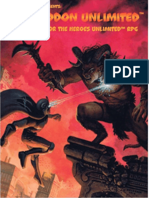 Heroes Unlimited- Armageddon Unlimited | Demons | Parallel