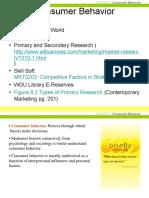 Consumer Behavior Chapter 5