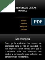 2. Características de Las Normas