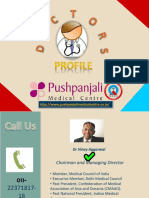 Doctors Profile of Pushpanjali Medical Centre