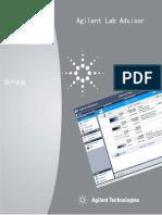 M8550-97007 AgilentLabAdvisor UserManual CHS
