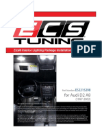 Audi D2 A8 Ziza Interior LED Light 2