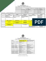 Horarios Grados Telematica y Tec Telecomunicacion 1617