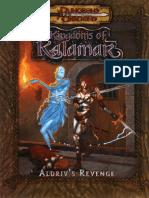 D&D 3.0 - Kingdoms of Kalamar - Aldriv's Revenge