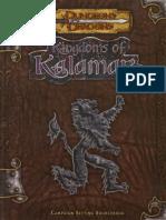 D&D 3.0 - Kingdoms of Kalamar - Campaign Setting