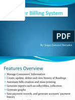Water Billing System | Feasibility Study | Use Case