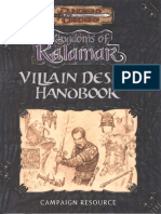 D&D 3.0 - Kingdoms of Kalamar - Villain Design Handbook.pdf