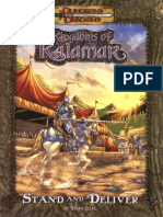 D&D 3.0 - Kingdoms of Kalamar - Stand and Deliver