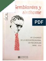 Cristina Gonzalez de Garroni - Semblantes y Sinthome.pdf