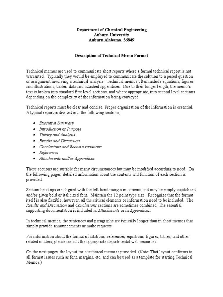 Technical memo format memorandum paragraph altavistaventures Choice Image