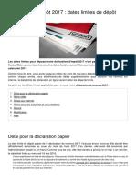 Declaration d Impot 2017 Dates Limites de Depot 7048 Ojcv1g (1)