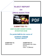 Drug Addiction BIOLOGY