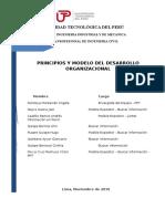 Principios y Modelos Del Desarrollo Organizacional - Tf