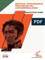 Bolivar Pensamiento Antimperiaista