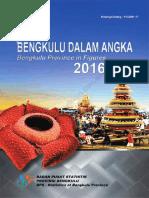 Provinsi Bengkulu Dalam Angka 2016
