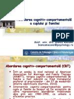1 Abordarea Cognitiv Comportamentala a Cuplului Si Familiei