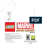 Manual Lego marvel