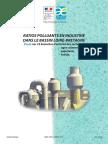 Ratios Polluants en Industries - Agroalimentaire_papeterie_textile