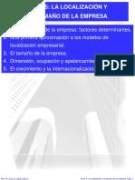 TEMA 5 LA LOCALIZACION Y EL TAMAÑO DE LA EMPRESA.pdf