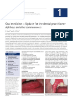 Oral medicine — Update for the dental practitioner