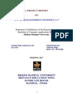 Bank Management System c