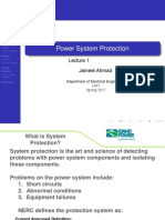 Introduction Power System Protection